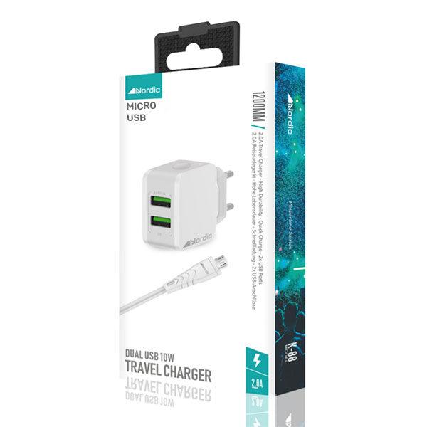 סט מטען קיר Micro USB
