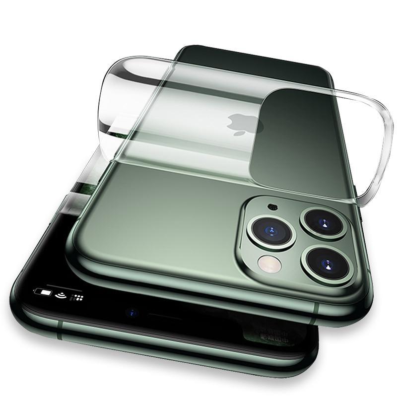 מדבקות סיליקון גב iPhone 12