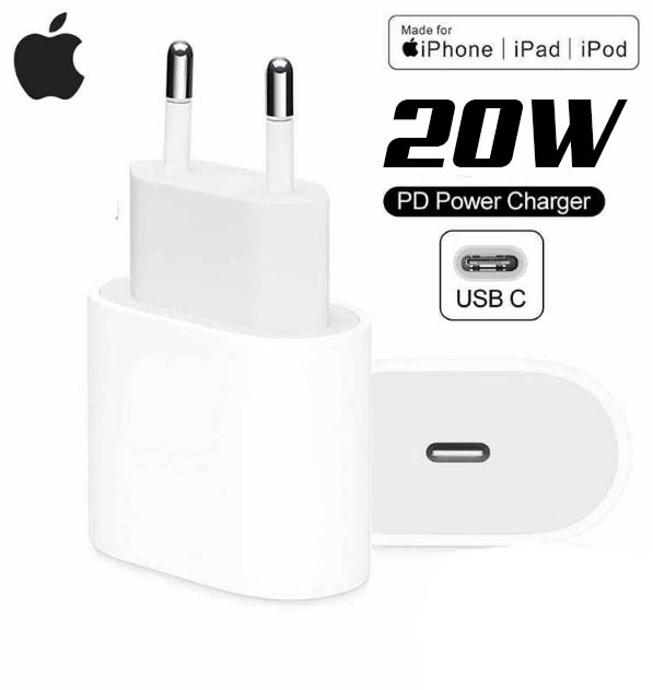 מטען מקורי APPLE 20W usb-c